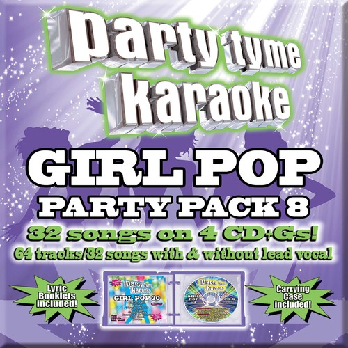 Party Tyme Karaoke: Girl Pop Party Pack 8 (CD)