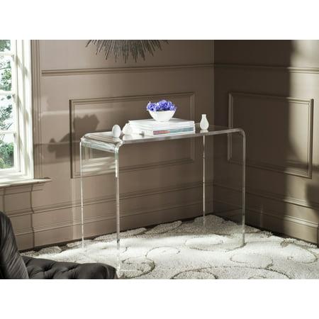 Acrylic Console Tables (Safavieh Atka Modern Glam Acrylic Console Table)