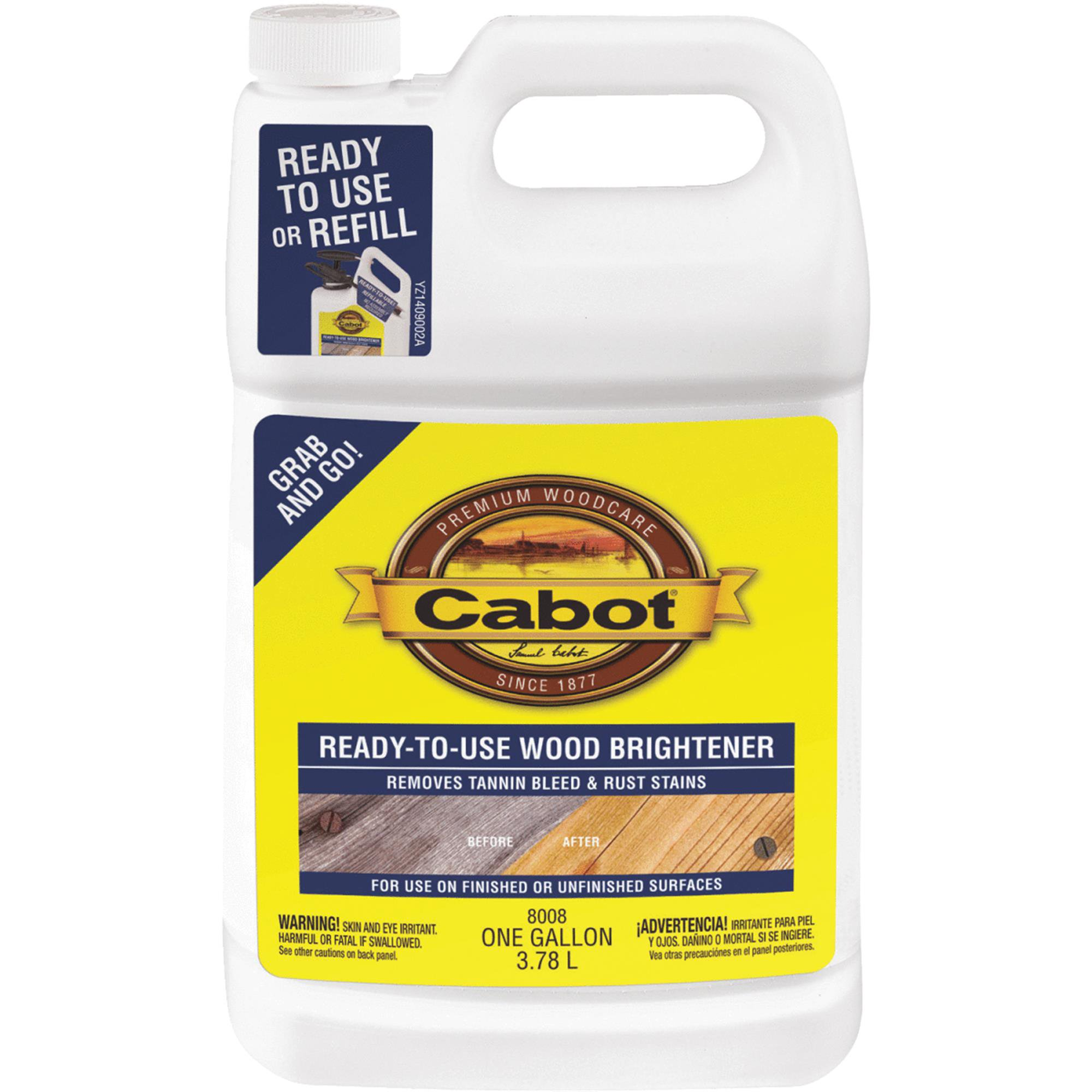 Cabot Ready-To-Use Wood Brightener