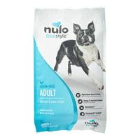 Nulo Freestyle Grain-Free Adult Salmon & Peas Dry Dog Food, 11 Lb