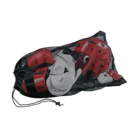 Black Mesh Tote Sparring Gear Bag -