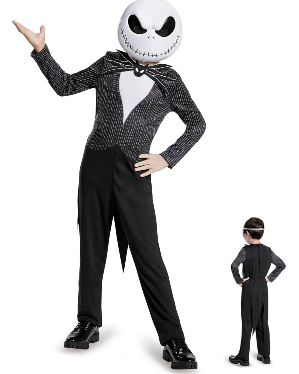 Nightmare Before Christmas Jack Classic Child Costume - Walmart.com