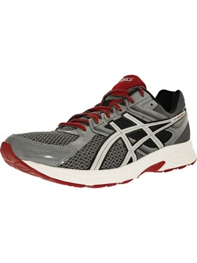 5ecfbc03012d2 Product Image Asics Men s Gel-Contend 3 Titanium Silver Red Ankle-High Running  Shoe