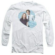 The Office Jim & Pam 4 Ever Mens Long Sleeve Shirt