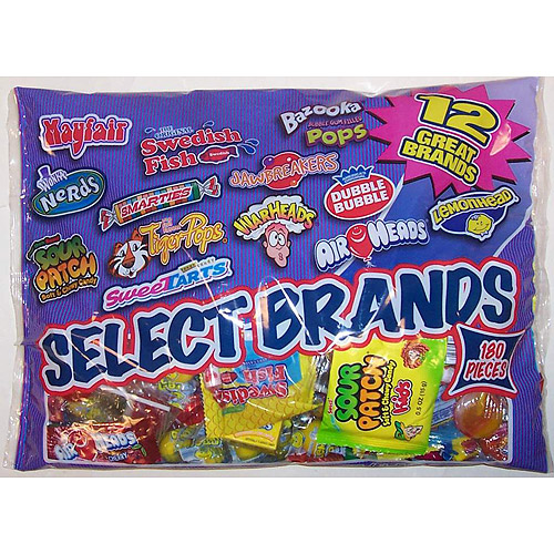 Select Brands: Candy Variety Pack, 200 Ct