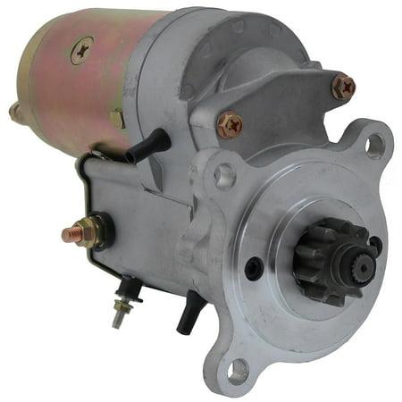 UPGRADE! Starter JCB Tractor Perkins 2873K405 63280041 Long Life Gear Reduction (Upgrade Starter)