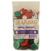 Buttons Galore Button Grab Bag Santa