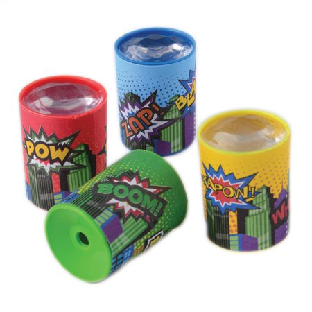 US Toy Superhero Prism Scopes 1.5 in Party Favors, Assorted, 12 - Superhero Party Ideas