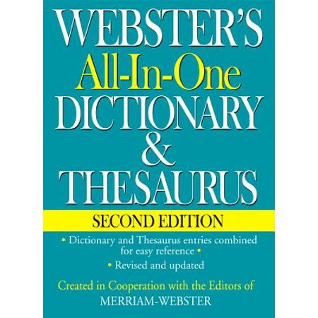 Webster's All-In-One Dictionary & Thesaurus, Second (Chords 2nd Edition)