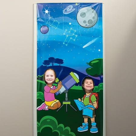 Fun Express - God's Galaxy Vbs Star Photo Door Banner - Party Decor - Door Decor - Photo Door Banners - 1 Piece](Vbs Banner)