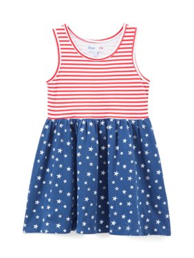 9cedfbc20f643 Product Image Freestyle Revolution Americana Tank Dress (Toddler Girls)