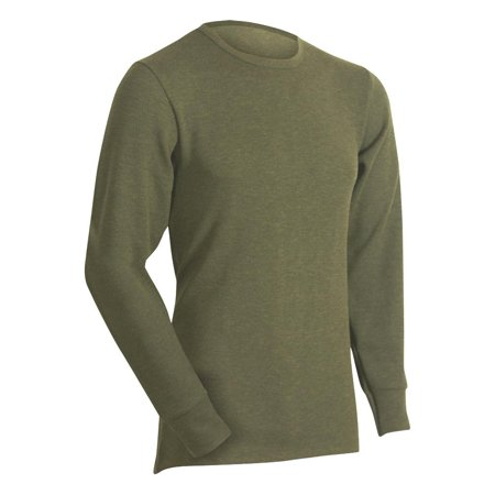 Loden Green (Cold Pruf Mens Regular & Big Eco-Terra Base Layer Thermal Underwear, 29918 Loden Green Top /)