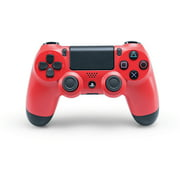 Sony DUALSHOCK 4 Wireless Controller, Magma Red (PS4)