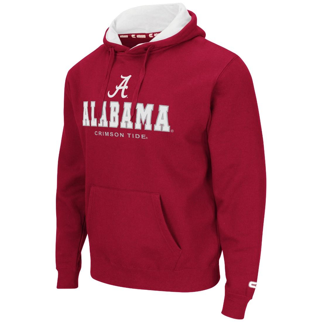 "Alabama Crimson Tide NCAA ""Zone II"" Pullover Hooded Men's Sweatshirt - Red"