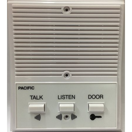 3404 SINGLE ENTRANCE INTERCOM SYSTEM, 4 WIRE (1/EA) By Pacific Electronics