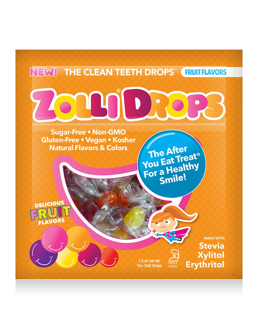 (2 Pack) Zolli Drops, Variety Pack, 15 Ct