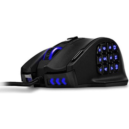 Gaming Mouse, UtechSmart Venus 16400 DPI High Precision Laser MMO Gaming Mouse [ IGN's