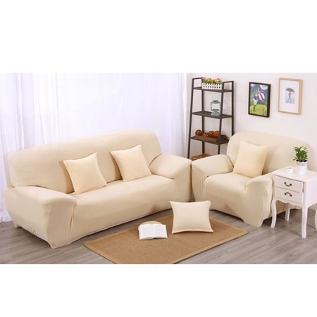 7 Colors Choices Solid Pure Colour Home Couch Slipcover Stretch Sofa Cover  3 Seater , Couch Slipcover,Three-seat Sofa Slipcover