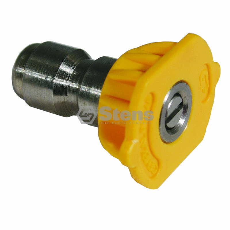Stens 758-940 Pressure Washer Nozzle Shop Pack 15 Degree  Size 5.0  Yellow