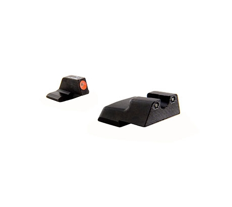 Trijicon HD XR Night Sight Set, Orange Front Outline for HandK 45C P30 VP9, Blac by Trijicon