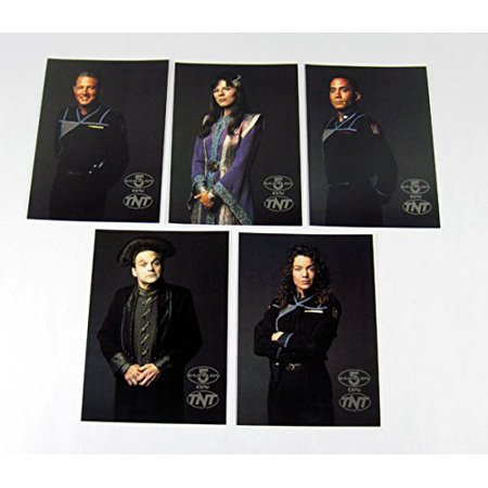 Cards Direct Promo Code (1997 Turner Broadcasting Babylon 5 TNT 5 x 7 Postcard Promo Set (5))
