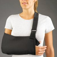 FLA Orthopedics Pro-Lite Arm Sling, Universal Size, Black