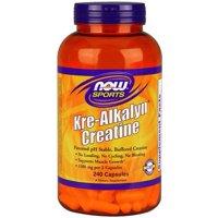 NOW Sports Kre-Alkalyn Creatine Capsules, 240 Ct