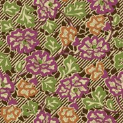 Quilting Country Day Stencil Floral, Brown