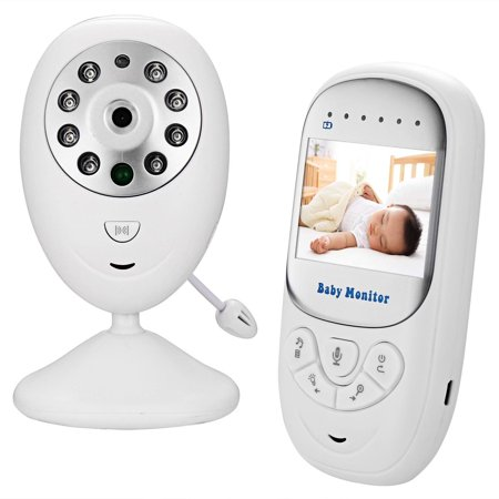 video baby infant monitor wireless digital camera with night vision two way talk long range. Black Bedroom Furniture Sets. Home Design Ideas