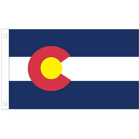 U.S. Flag Store Colorado State Stick Flag - 4