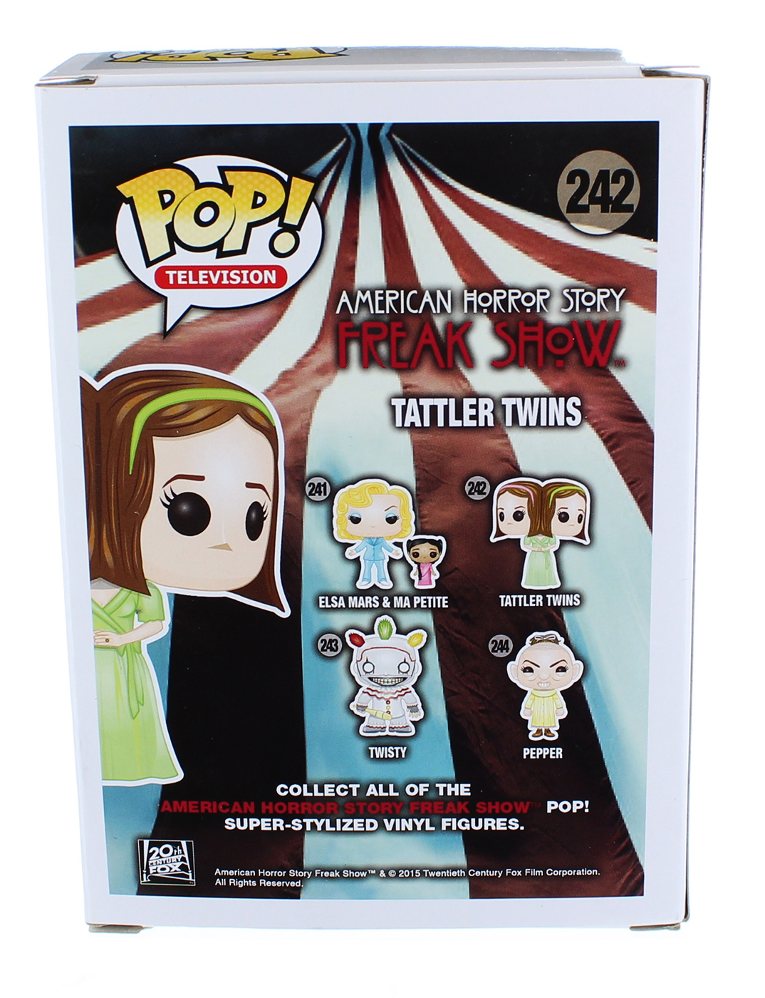 Funko Pop Tv American Horror Story Season 4 Tattler Twins 5619