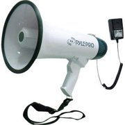Pyle Audio GB1148W Professional Dynamic Megaphone with Recording Function-Detachable Microphone and Rechagable Batteries