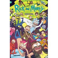 Rick and Morty Book Four : Deluxe Edition