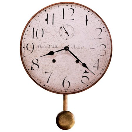 - Howard Miller Original Howard Miller II Wall Clock - 13 in. Wide