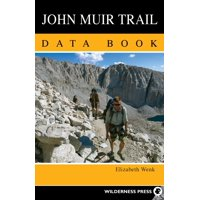 John Muir Trail Data Book (Paperback)