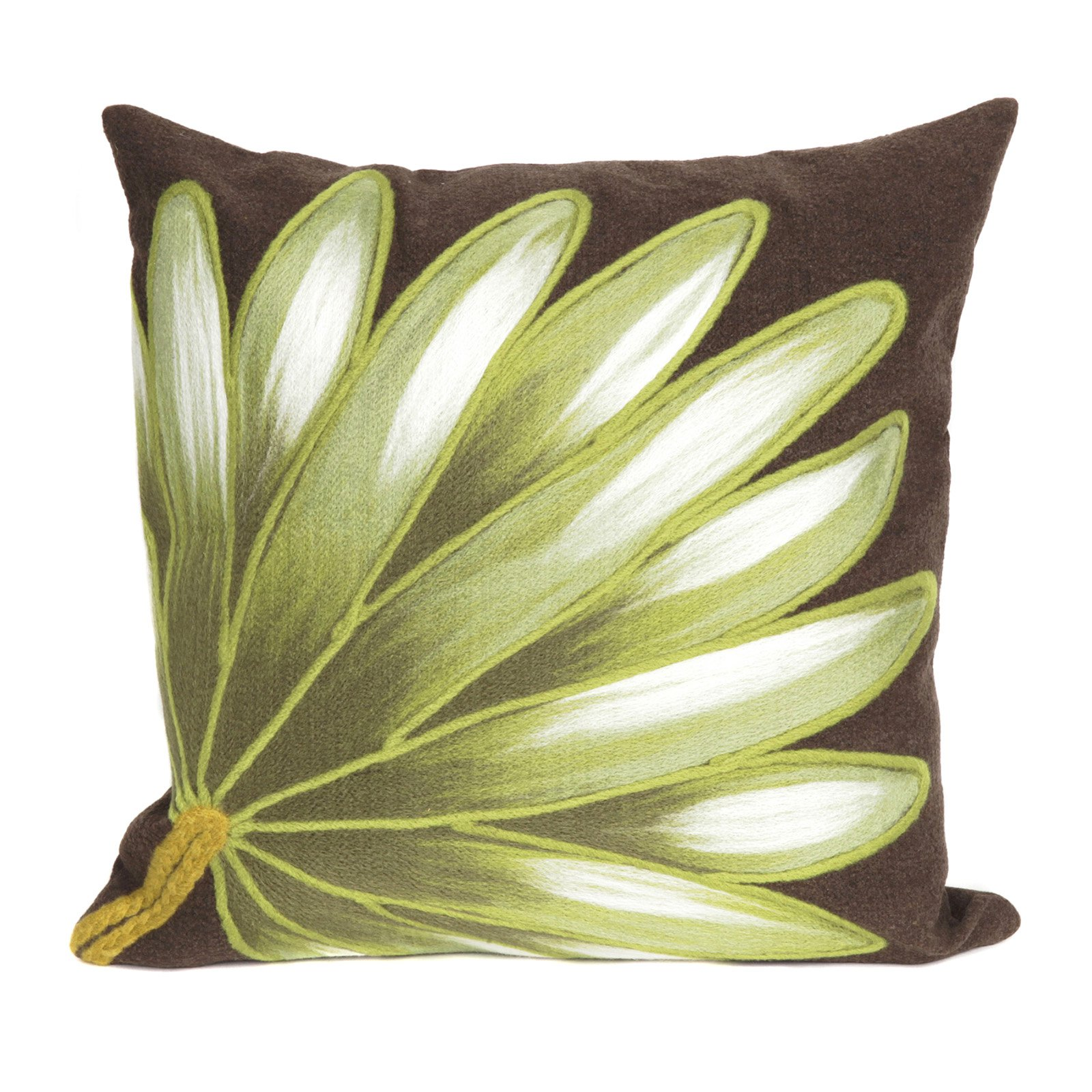 Liora Manne Palm Fan Indoor/Outdoor Pillow