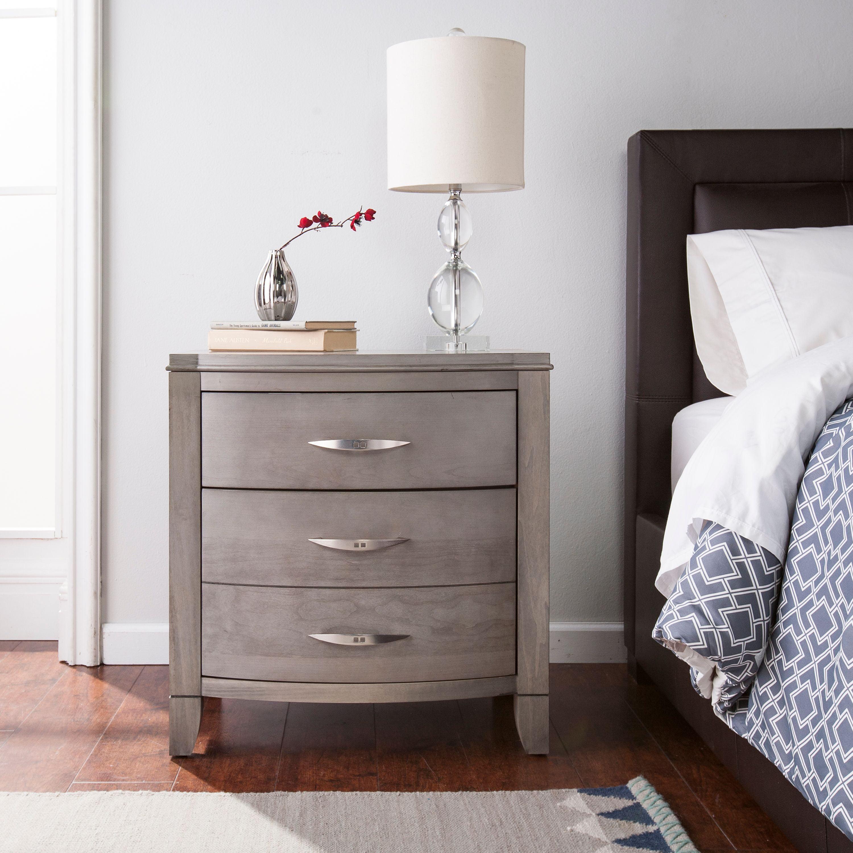 Southern Enterprises Despicito 2 Drawer Nightstand Transitional Style Driftwood Gray Walmart Com Walmart Com