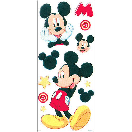 Disney Embossed Stickers & Borders Packaged-Mickey Stickers