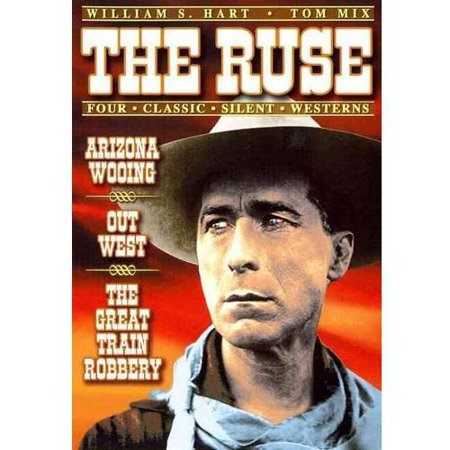 Four Classic Silent Westerns: The Ruse (1915) / The Great Train Robbery (1903) / Arizona Wooing (1915) / Out West