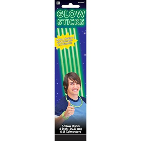 Green Glow Stick (Green Glow Sticks 5ct)