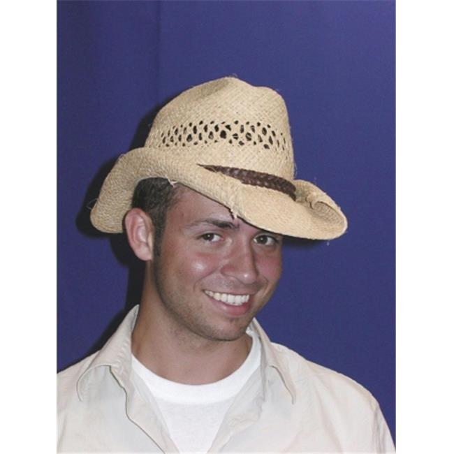 Costumes For All Occasions Gc180 Cowboy Hat Rolled Beige