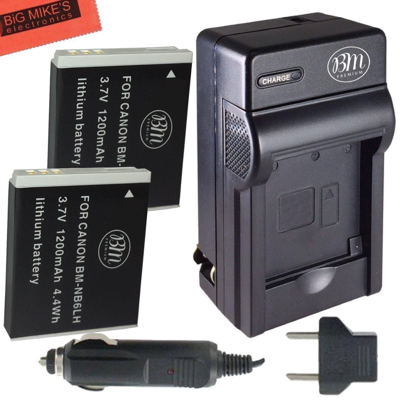 SX540 HS HQRP AC Power Adapter for Canon PowerShot SX530 HS SX700 HS SX610 HS