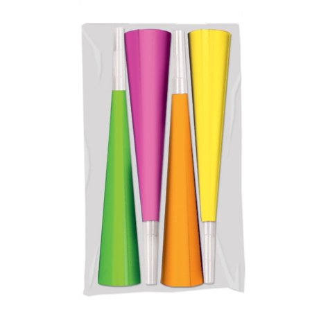 Rattle Noise Maker (Neon Swing Horn Noise Makers Assorted colors (1)