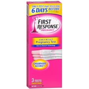 FIRST RESPONSE Early Result Pregnancy Tests 3 Each (Pack of 6)