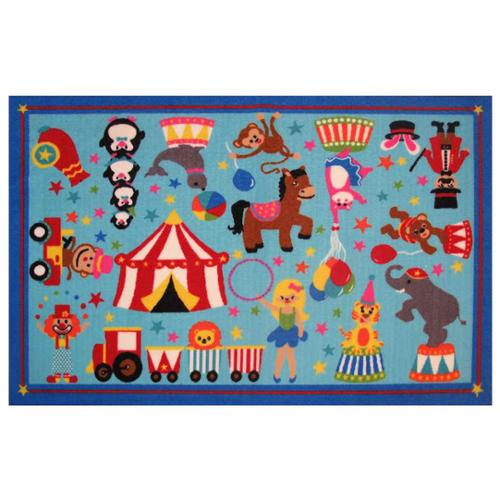 Fun Rugs Fun Time Circus Life! Kids Rugs