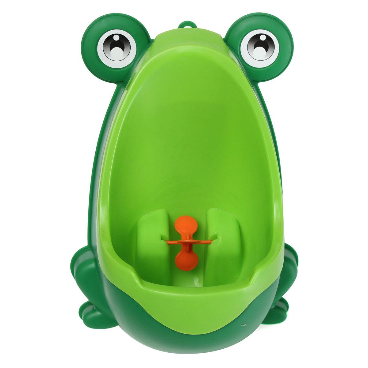 Frog Boy Kids Baby Toilet Training Children Potty Pee Urine Removable For Home Bathroom+ Brush