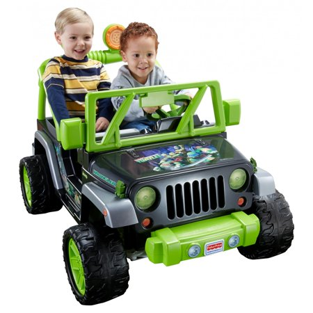 Power Wheels Nickelodeon Teenage Mutant Ninja Turtles Jeep Wrangler