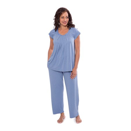 Texeresilk - Women s Pajamas in Bamboo Viscose (Bamboo Bliss) Cozy Sleepwear  Set by Texere WB0001 - Walmart.com 46c770a92