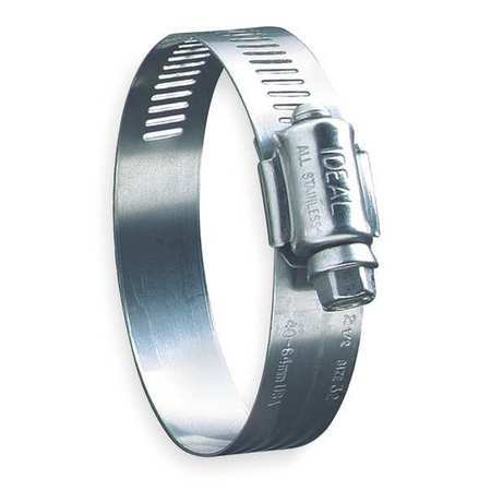 IDEAL 6872 Hose Clamp, 3 to 5 In, SAE 72, SS, PK10
