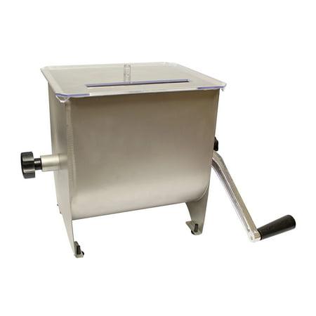 7Penn | Manual Meat Mixer – 20 lb Sausage Mixer Machine Meat Mixer with Lid